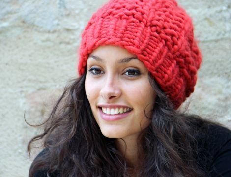 kit tricot bonnet homme