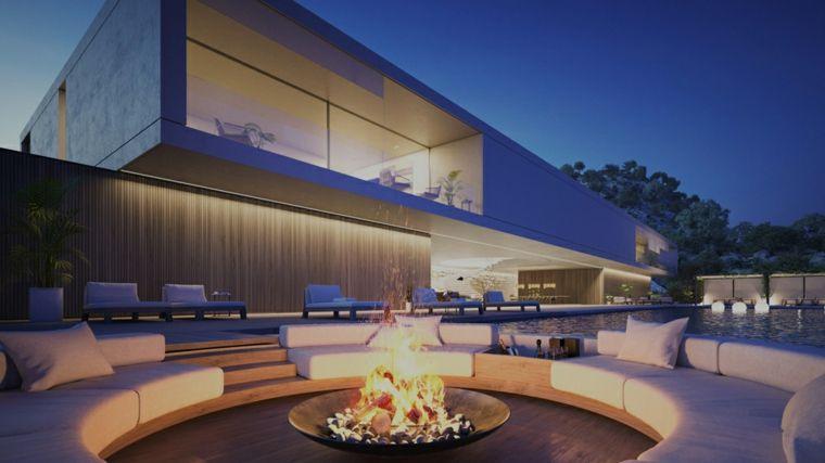 Luxuriöse Häuser Superhouse Exklusivität ist in der