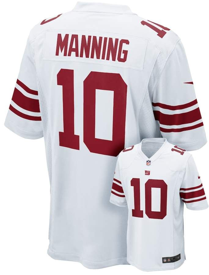 more photos 96d30 6875e Nike Men's New York Giants Eli Manning Game NFL Replica ...