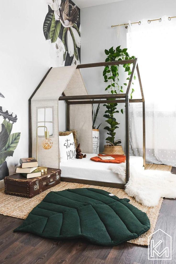 Chambre d'enfant au décor vert | Transformez la chambre de votre enfant avec ces couleurs...