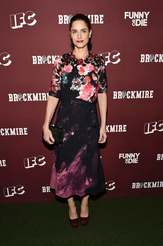 Amanda Peet In Miu Miu Fashion Nice Dresses Floral Frocks