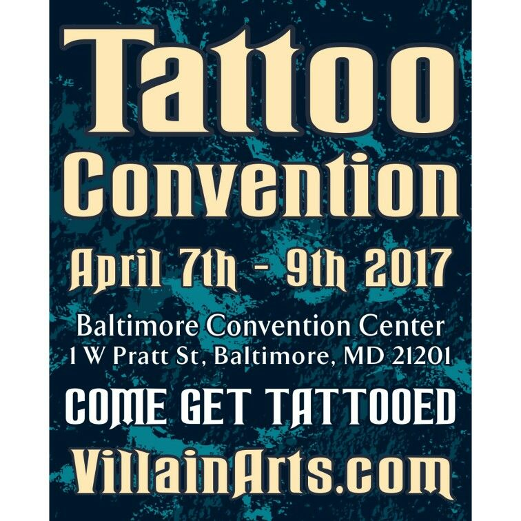 Fresh ink coming soon! #villainartstattooconvention #tattoos #baltimorebikers #marylandbikers #bikers #motorcycles #tattoosofpinterest