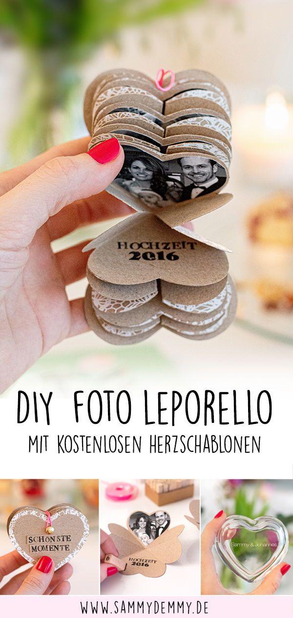 DIY Ideen für den Valentinstag: Fotogeschenke und Streichholzschachtel