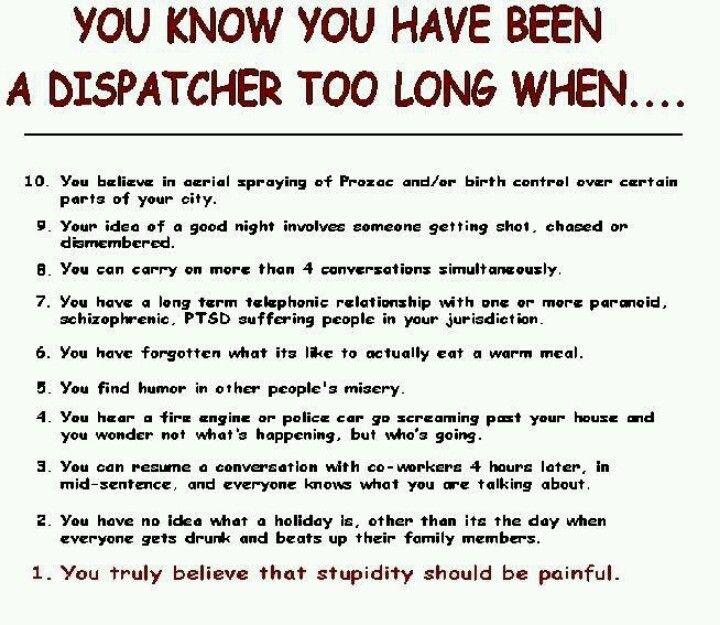 911 Operators 911 Dispatcher Pinterest - resume for dispatcher