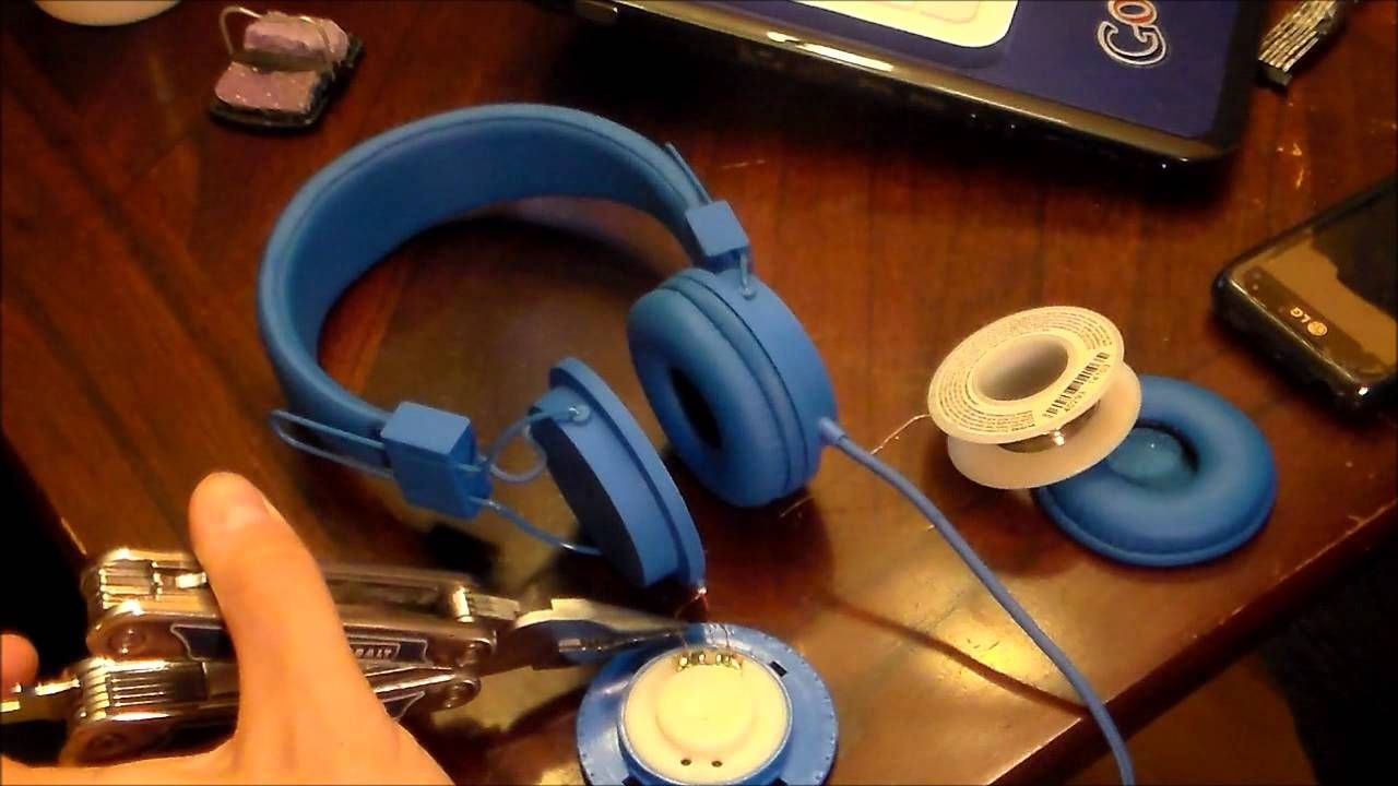 Easy way How to Repair headphones and headsets easy fix no ...