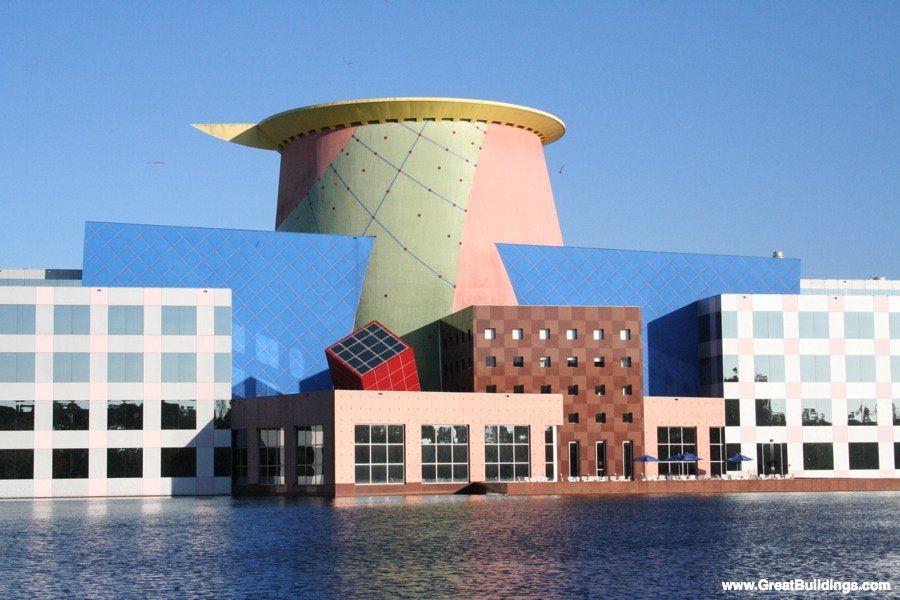 Modern Architecture Orlando team disney building, orlando | disney: architecture & design