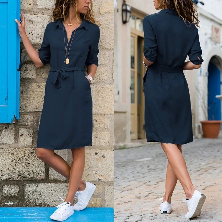 Modna Szmizjerka Letnia Sukienka Koszulowa S 8970413470 Oficjalne Archiwum Allegro Plus Size Dresses Big Size Dress Bathing Suit Dress