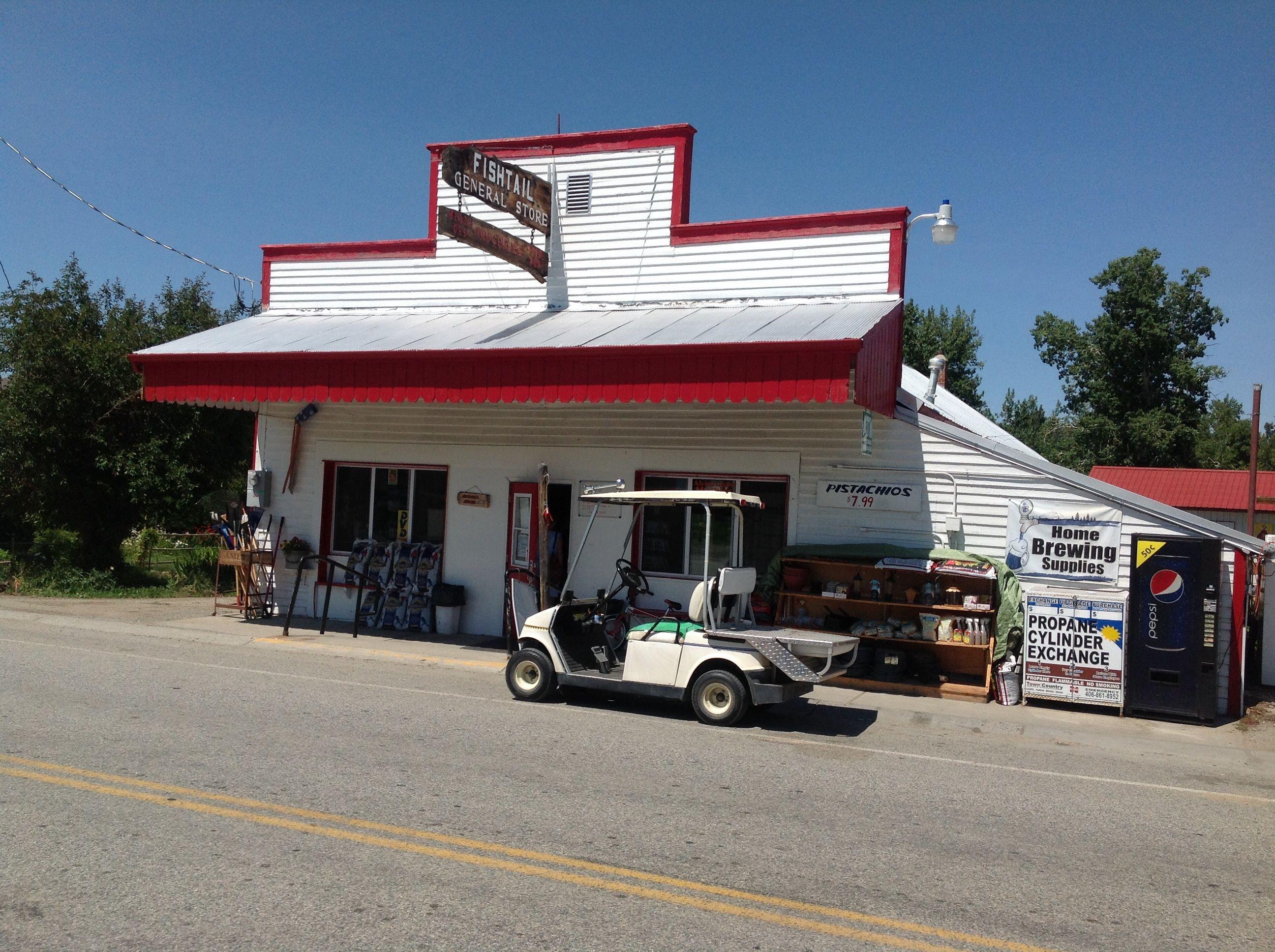 Country storefishtail montana country montana