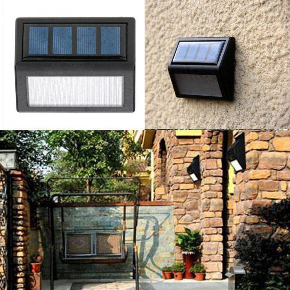 Home garden solar optically controlled light waterproof led solar