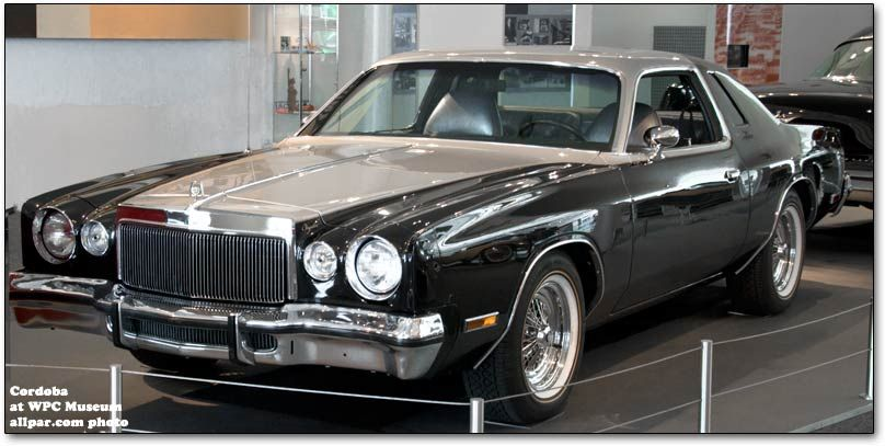 1977 Chrysler Cordoba originally Silver and then painted