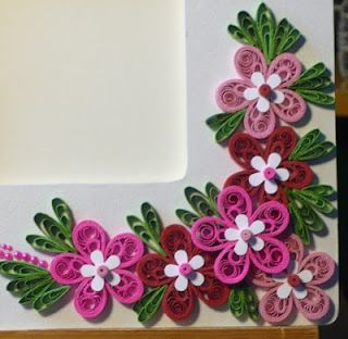Bordering  picture frame also paper quilling pinterest rh