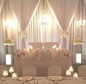 1 Wedding Head Table Backdrop Rentals Toronto Drapery Backdro Wedding Reception Decorations Elegant Wedding Reception Backdrop Head Table Wedding Backdrop