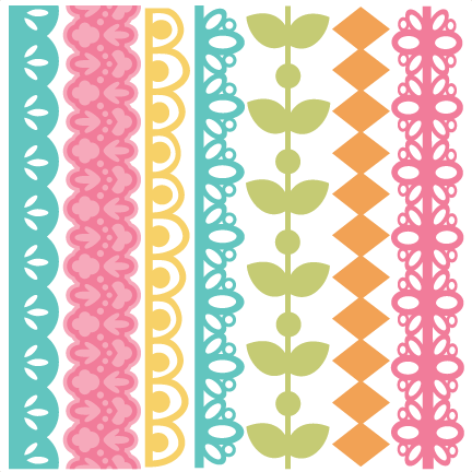 Flowers cut file for scrapbooking flower free flower svg file free cut - Free Svg Files Svg Borders Silhouette Projects Amp Ideas