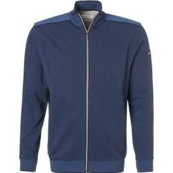bugatti Sweat-Jacke Herren, Baumwolle, blau BugattiBugatti #cottonstyle