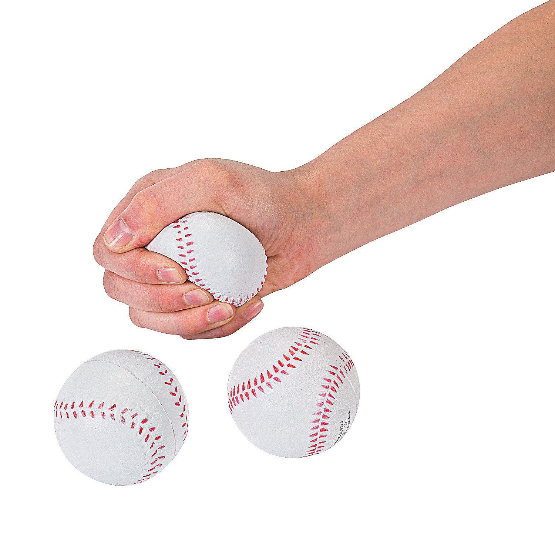 Realistic Baseball Stress Balls | Oriental Trading