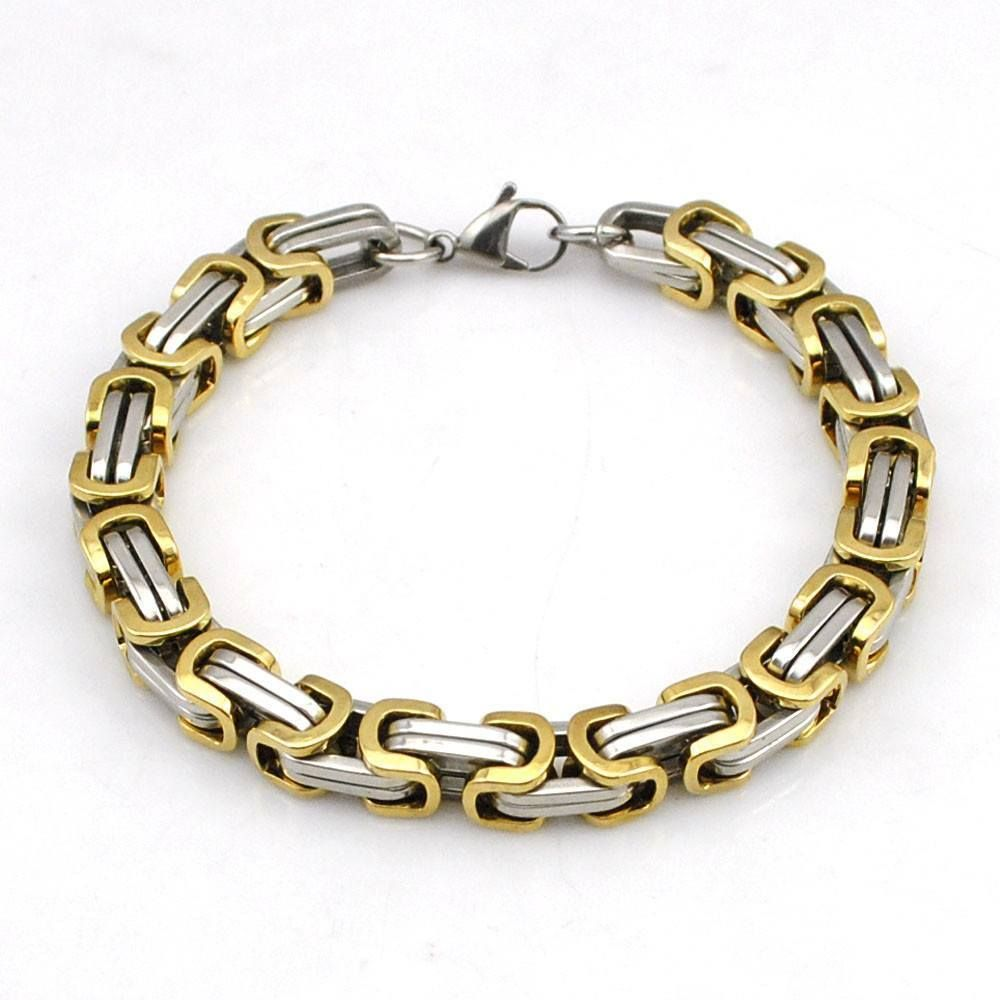 Byzantine link chain bracelet variations byzantine chains and