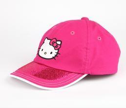 Hello Kitty Sports Hat: Magenta