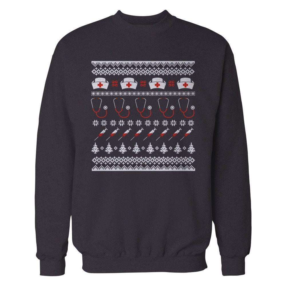 Nurse Christmas Sweater.Pin On Cna