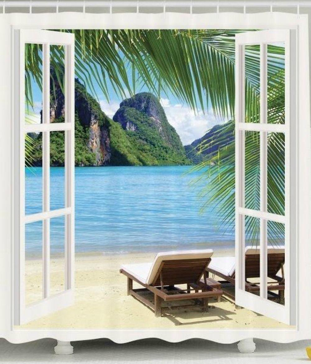 Island Shower Curtains
