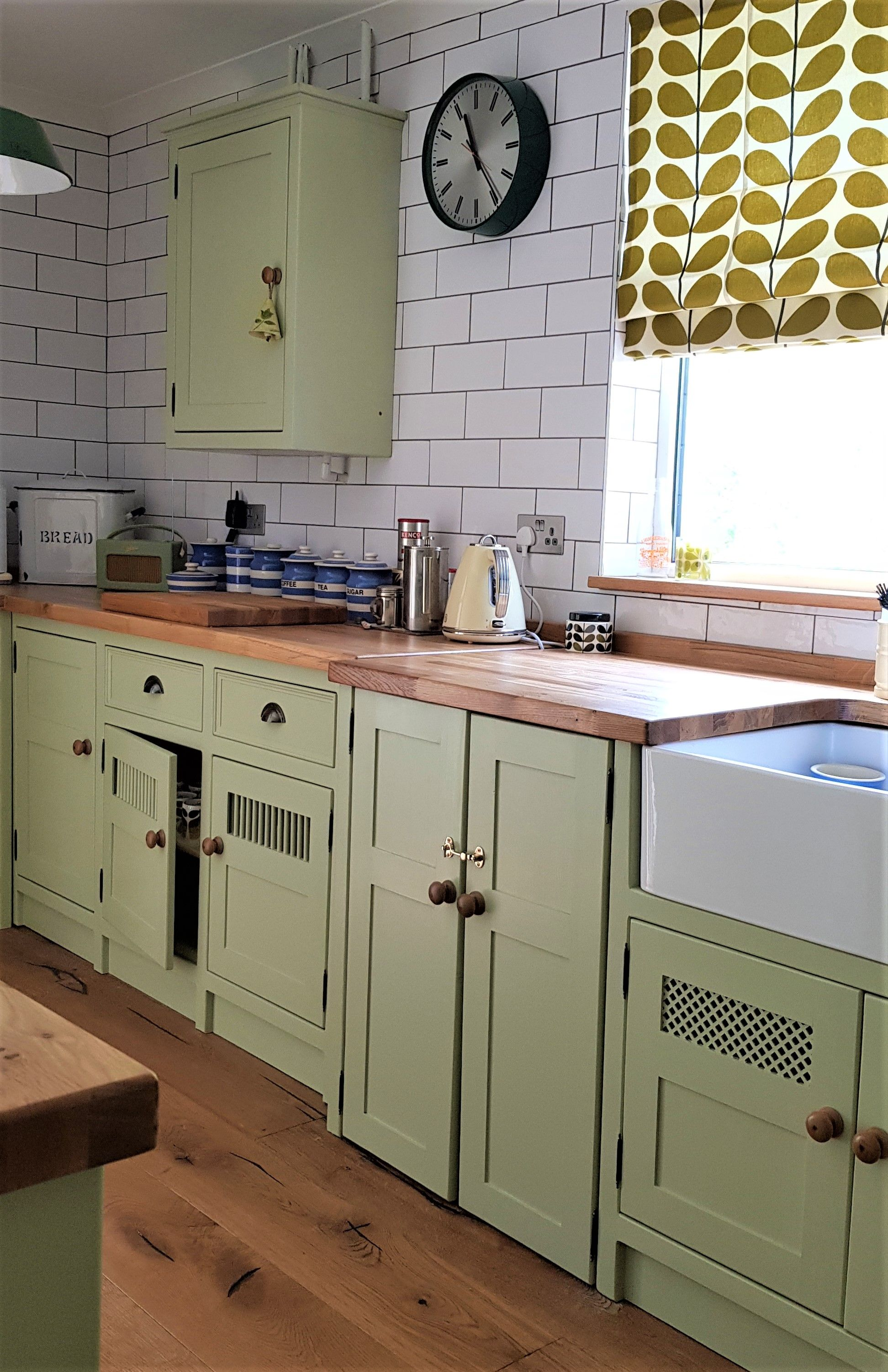 'Cooking Apple Green' Kitchen In Bristol