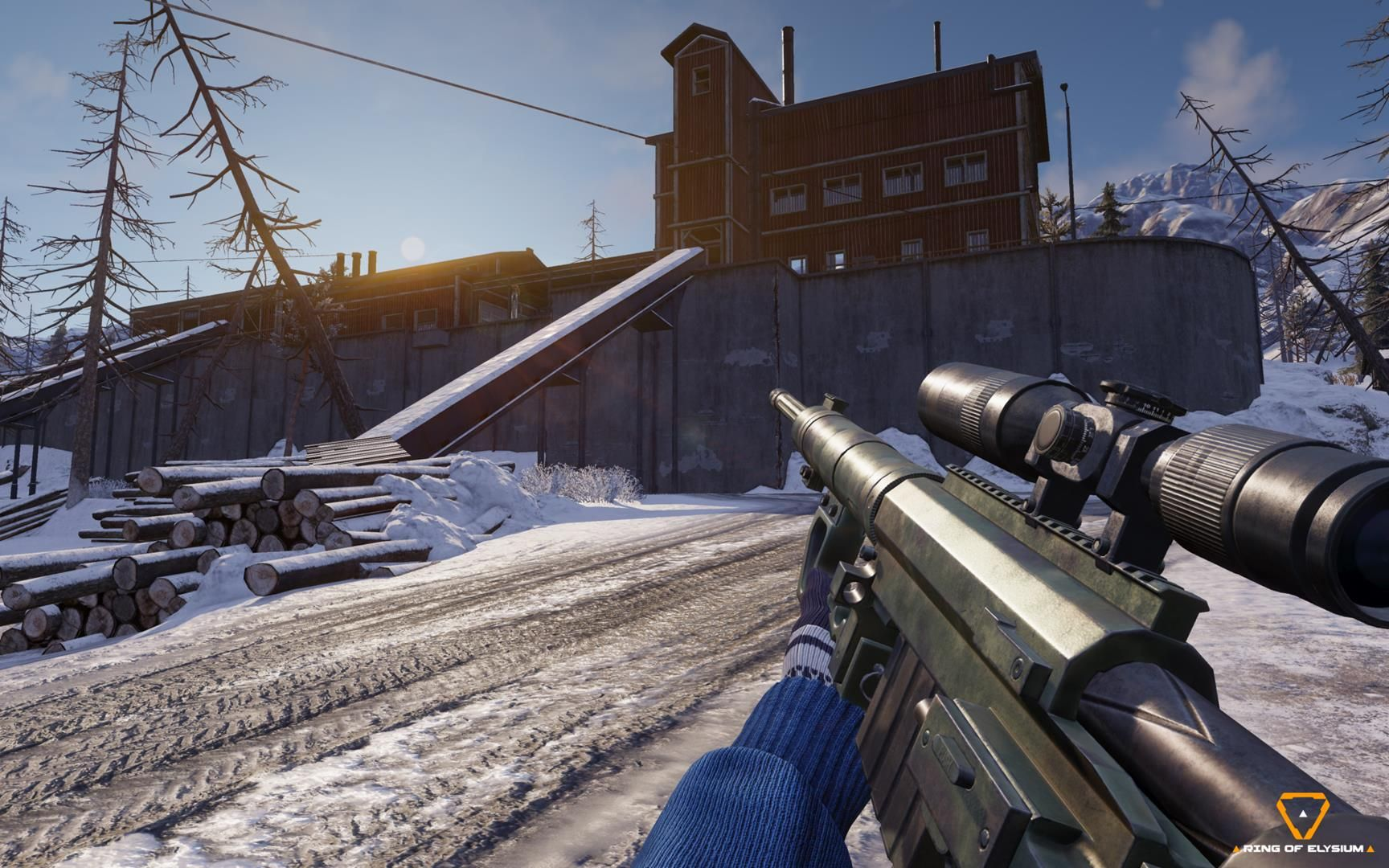 Ring Of Elysium The Battle Royale Shooter Where You Can Snowboard And Paraglide Is Coming To Steam Next Week Jeux Video Jeux Battle Royale