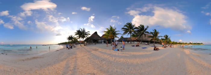 360 Virtual Tour Of Aal Turtle Beach Riviera Maya Mexico Very Cool