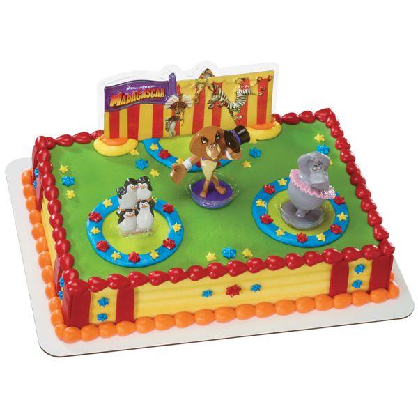 Madagascar 3 Three Ring Circus Cake Via Publix Cakes
