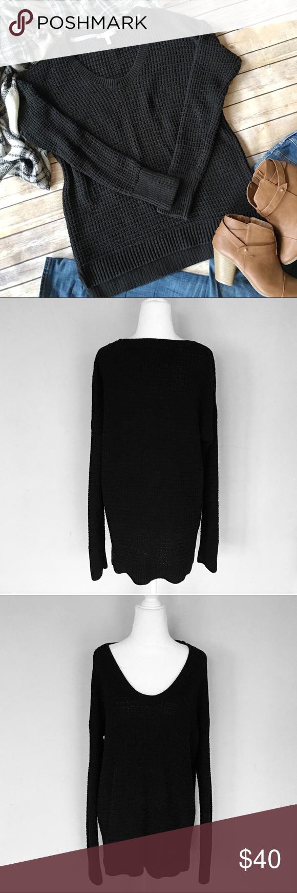 Victoria's Secret Oversized Black Sweater