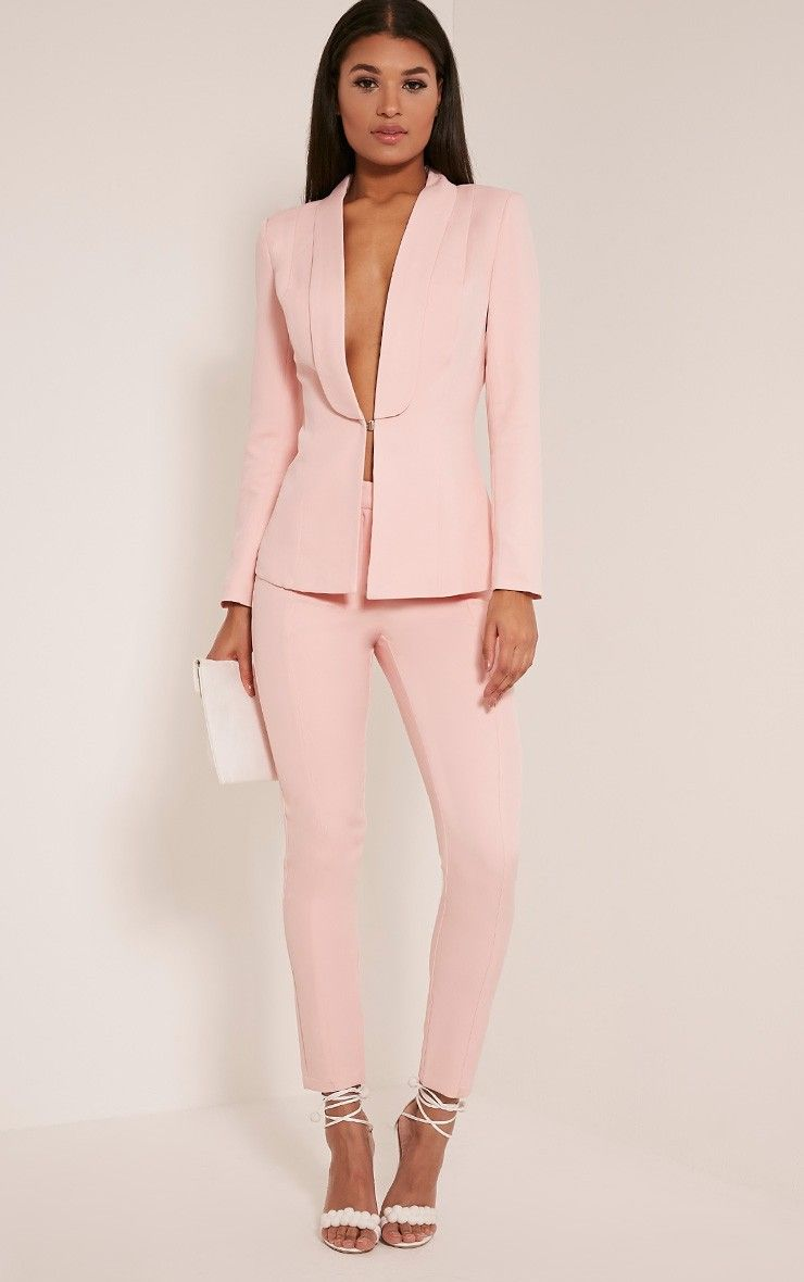 Women Pants Suit Tumblr With Brilliant Minimalist -6033