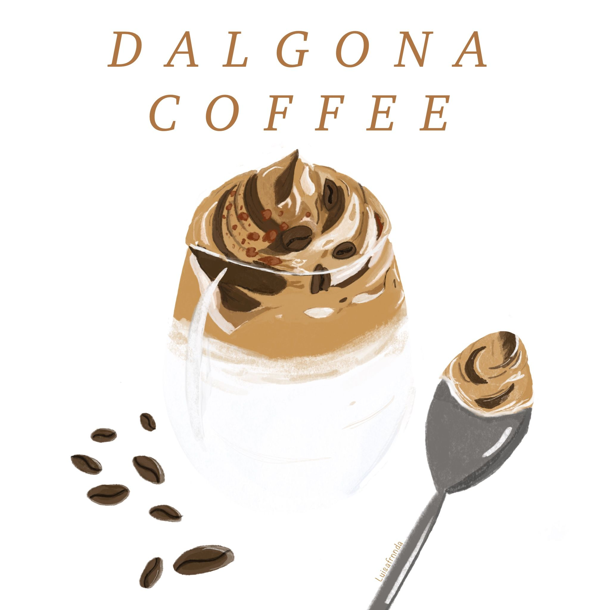 Dalgona Coffee en 2020