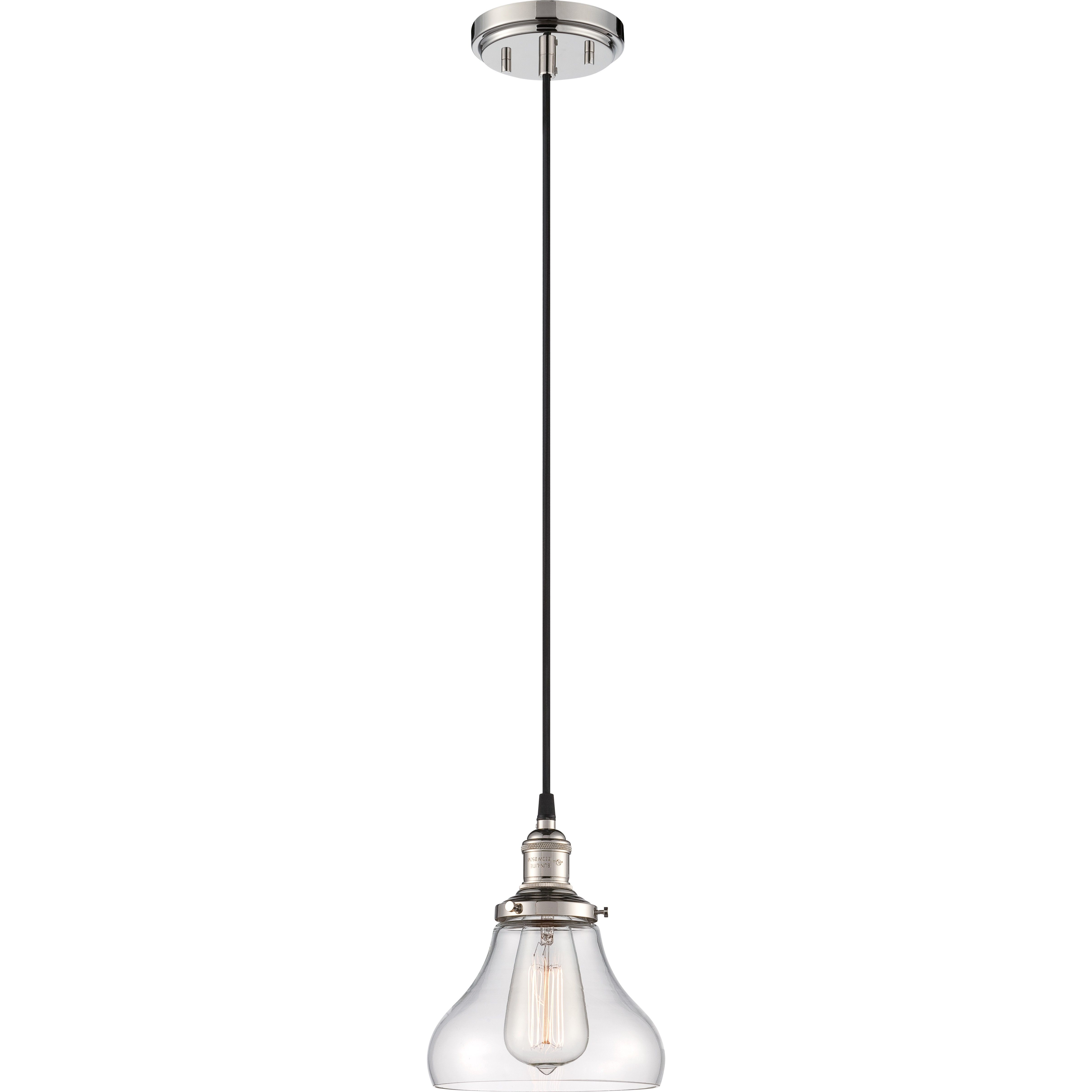 Nuvo 60 5403 1 light mini pendant light and vintage light bulb nuvo 60 5403 1 light mini pendant light and vintage light bulb mozeypictures Choice Image