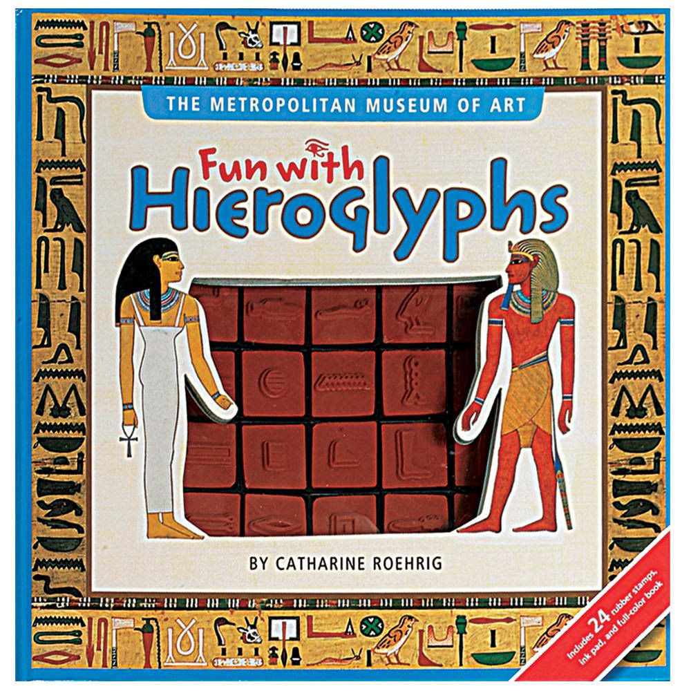 Fun with hieroglyphs fun book activities inspired learning