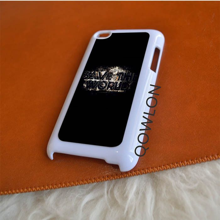 SHM Save The World iPod Touch 4 | 4TH GEN Case