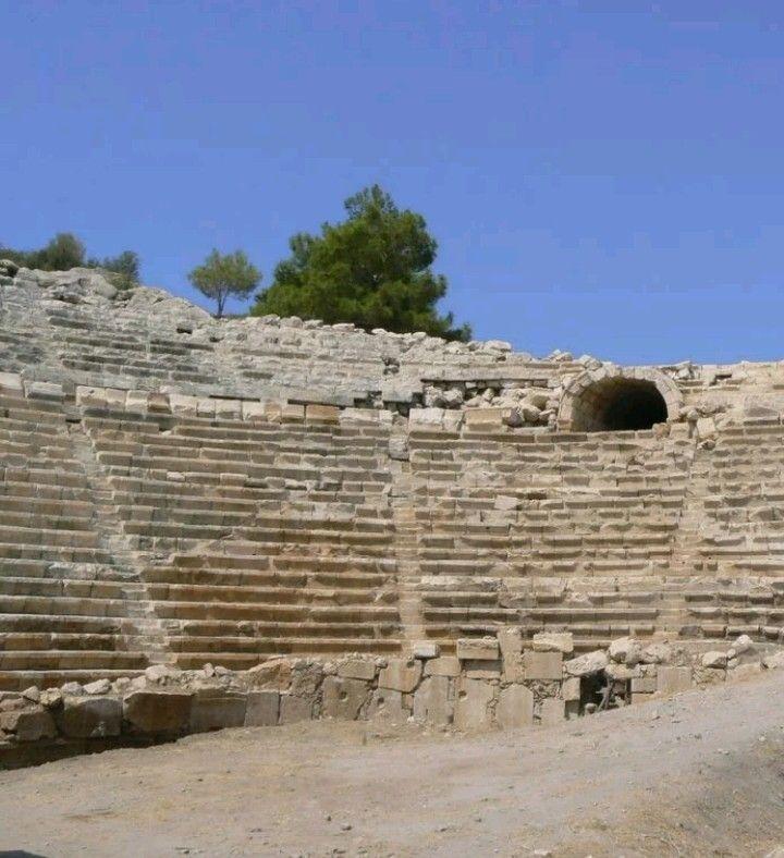 Ancient theatre-Patara ancient city-Kalkan-Kaş-Antalya