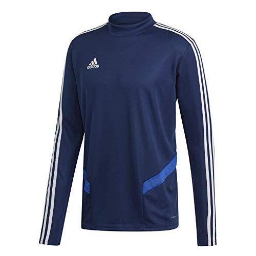 adidas Herren TIRO19 TR Sweatshirt, Dark Bold BlueWhite, XL