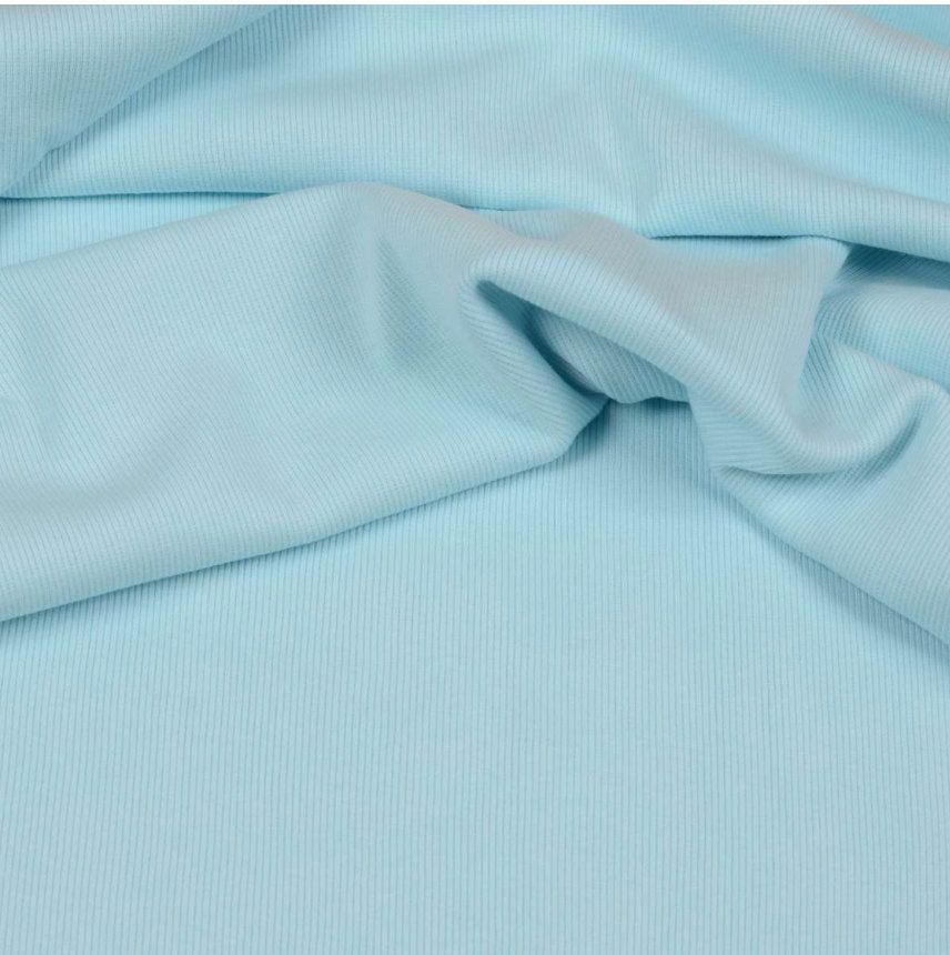 Bündchenstoff hellblau / mint Grob / Extrabreit von HexenherzStoffe auf Etsy