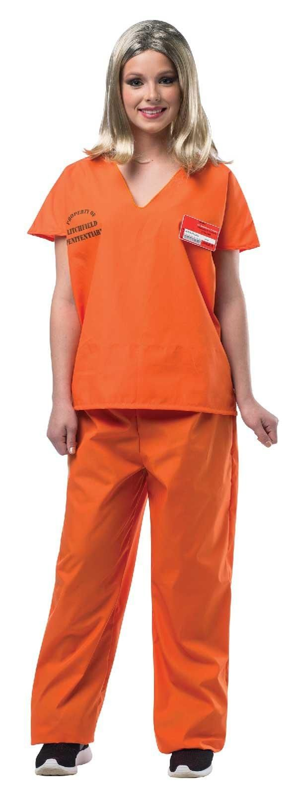 Girls Trouble Maker Prisoner Costume - Party City | Halloween ...