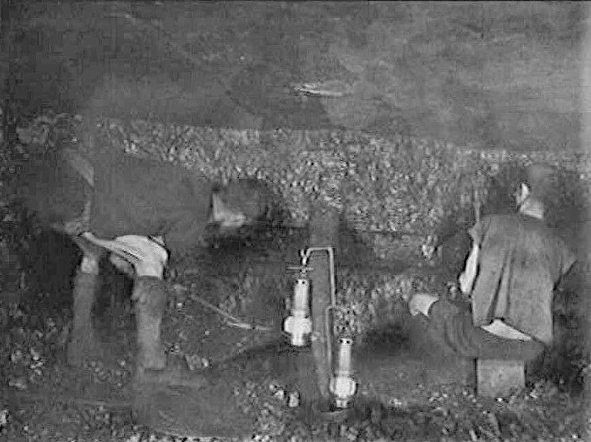Pin on Coal mining