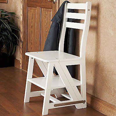 Franklin Collapsible Kitchen Step Stool Just Flip The Backrest