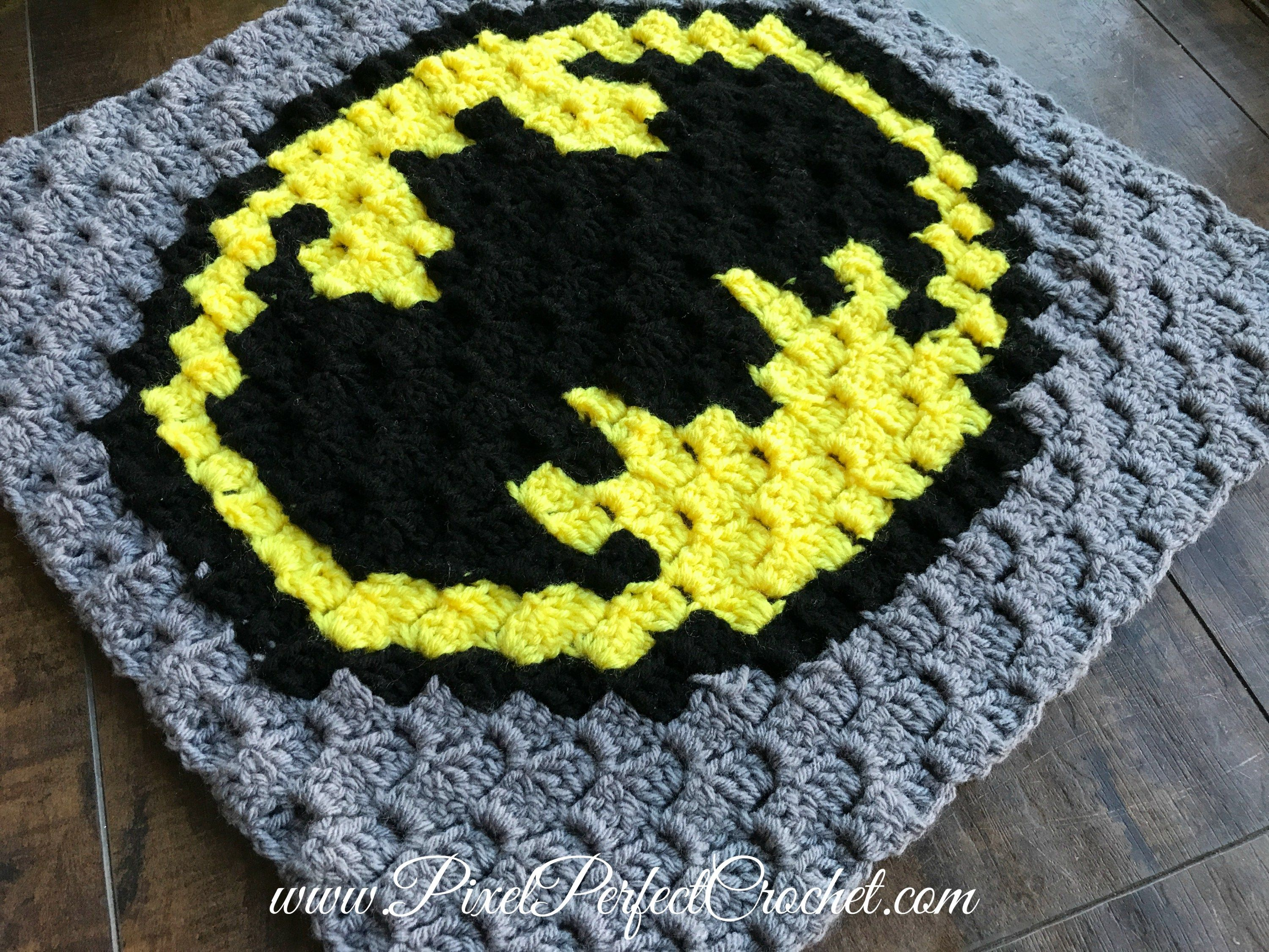 Batman Crochet Panel | Crochet I Like - Batman, the Joker and the ...