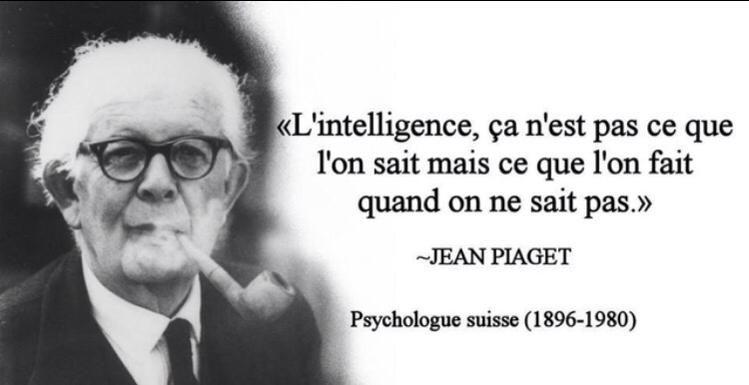 Michael Aguilar On Jean Piaget Citation Education Et Citation