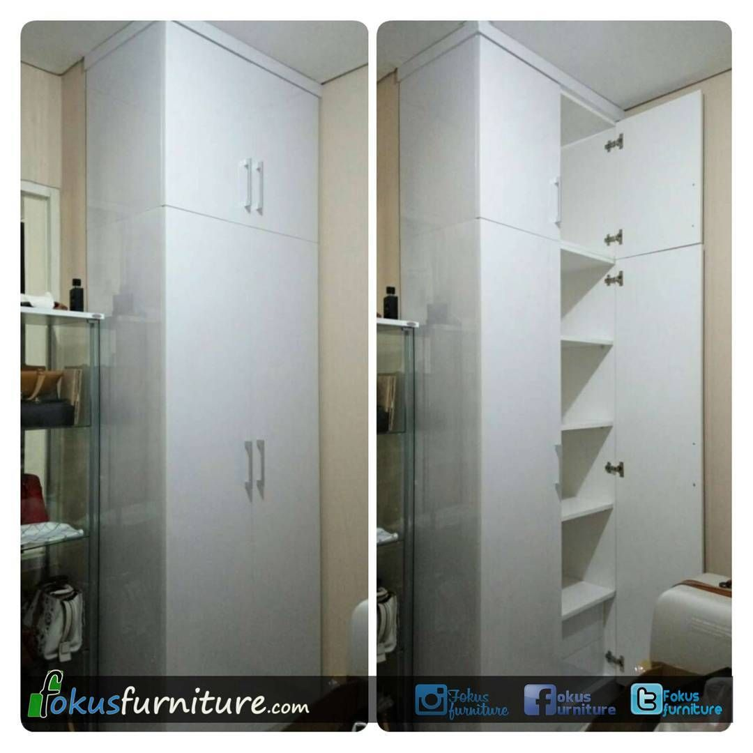 Pin Di Wardrobe Custom Minimalis From Ig Fokusfurniture