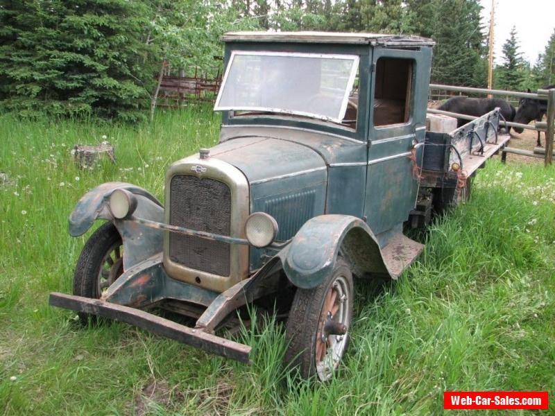 1928 Chevrolet Original 1928 Chevrolet 1 Ton Flatbed Truck ...