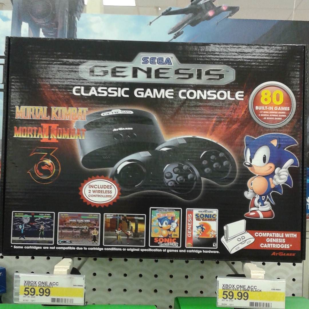 By mikegzone454: you guys see this I want one #segagenesis #segagenesis #segamegadrive #microhobbit