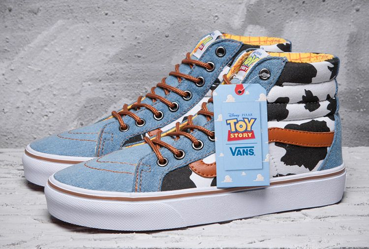 Vans Toy Story Woody gradient