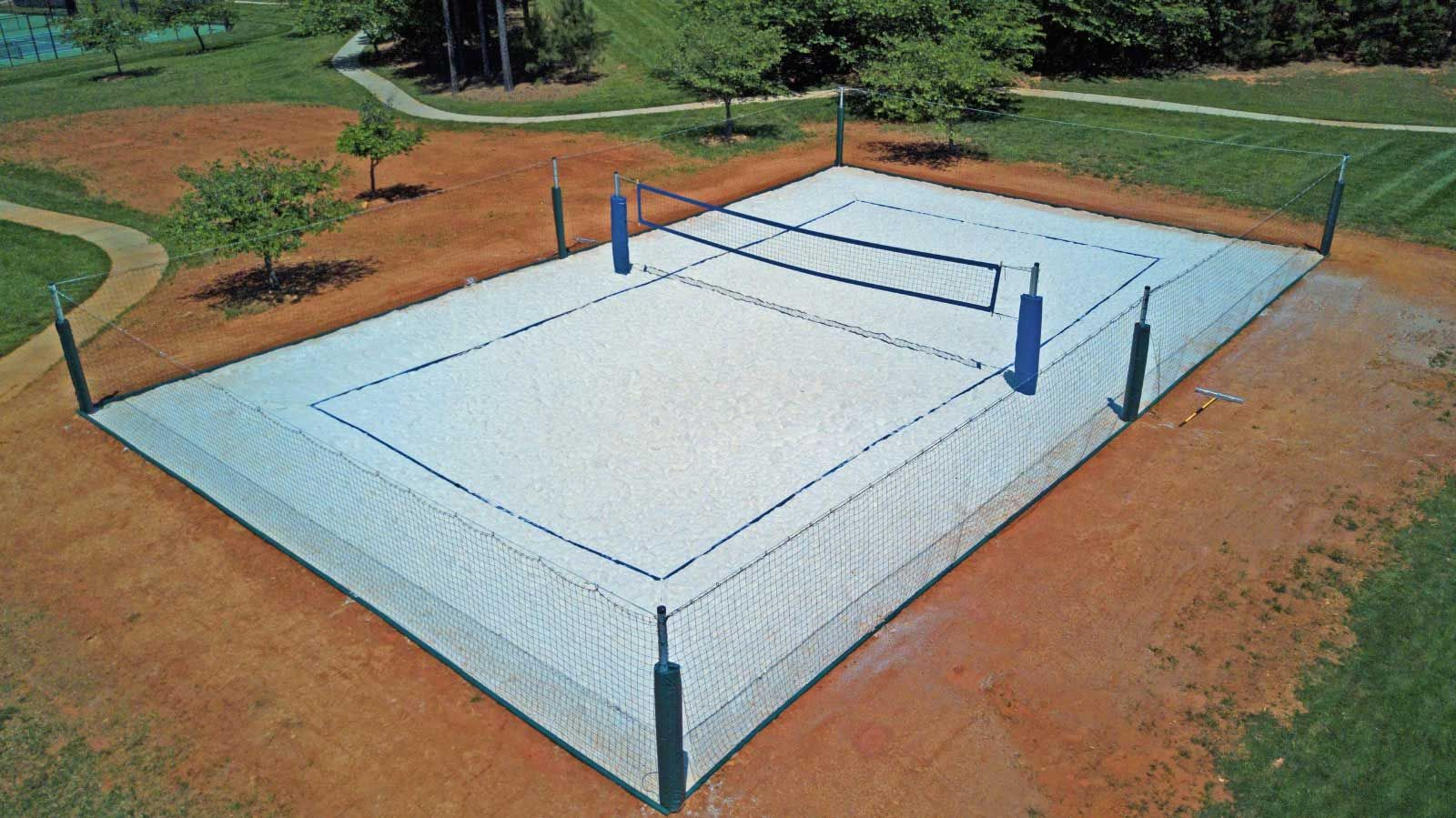 Backyard Volleyball Courts In 2020 Beach Volleyball Court Volleyball Court Backyard Beach Volleyball Court Dimensions