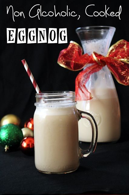 the stay at home chef nonalcoholic cooked eggnog no