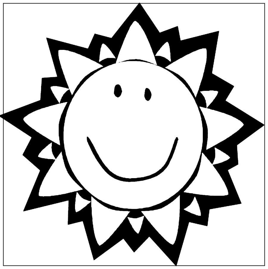 Dibujos Del Sol Para Colorear Online Imagenes Para Pintar