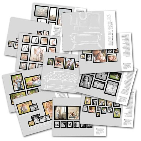 wall gallery sales guide templates for photographers Business - guide templates