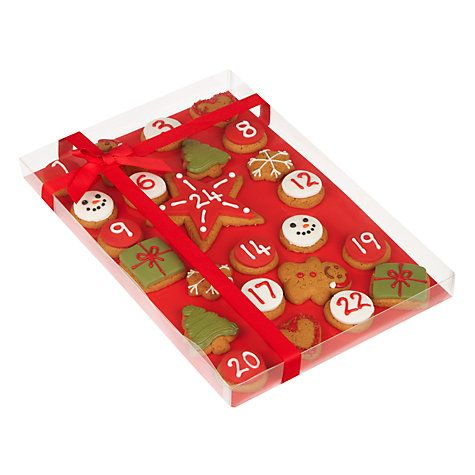 Buy Gingerbread Advent Calendar, 325g Online at johnlewis Xmas